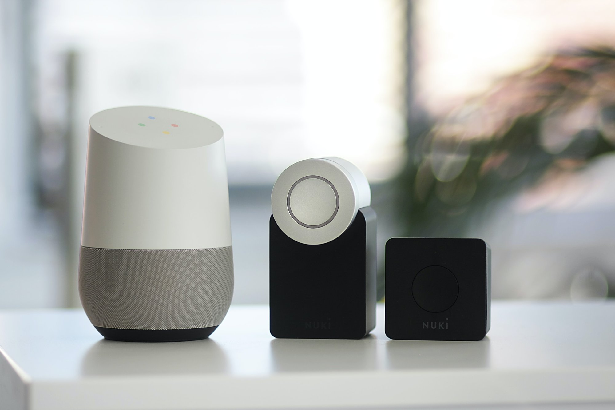 google home with smart home lock home value